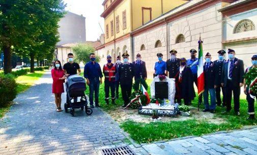 VOGHERA 07/09/2021: Il maresciallo Riccardo Bonn ricordato nel corso di una cerimonia di fronte all'ex caserma