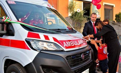 CASTEGGIO 22/09/2021: Quattro nuovo mezzi per il comitato locale della Croce Rossa