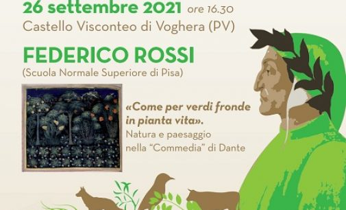 VOGHERA 22/09/2021: Domenica conferenza conclusiva al Castello su Dante e la Scienza