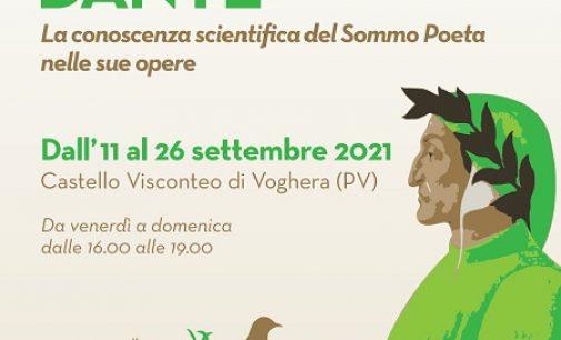 VOGHERA 09/09/2021: Dante non solo poeta ma anche… scienziato. Al Castello dall'11 un'inedita mostra