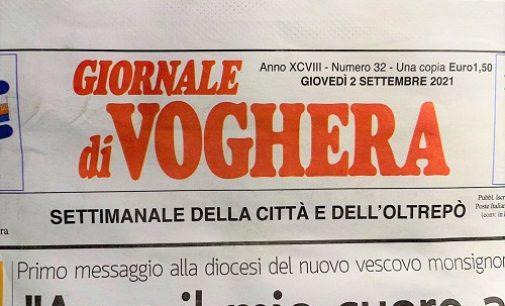 """VOGHERA 16/09/2021: Calo di copie e di pubblicità. Appello del """"Giornale di Voghera"""" ai lettori per avere un sostegno"""
