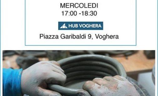 VOGHERA 29/09/2021: All'HUB Voghera parte il Corso di Ceramica per Bambini. Aperte le iscrizioni