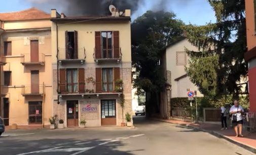 SALICE TERME 09/09/2021: A fuoco i cassonetti. Timori per le abitazioni. Non si esclude il dolo