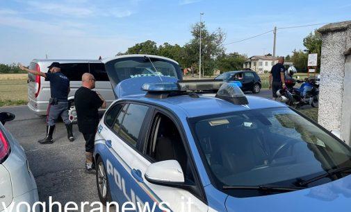 RIVANAZZANO 03/09/2021: Incidente sulla Sp461 per il Penice. Ferito un motociclista