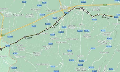 CASTEGGIO BRONI STRADELLA 10/09/2021: Strade. Asfaltature Anas. Dal 13 settembre al 6 ottobre sensi unici alternati fra Casteggio e il confine con l'Emilia