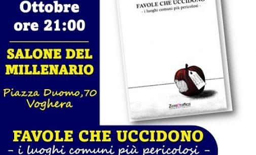 """VOGHERA 30/09/2021: Al Millenario venerdì la presentazione del libro """"Favole che uccidono"""""""
