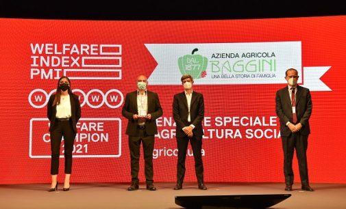 VOGHERA 13/09/2021: Gli Orti Sociali vogheresi premiati a Roma nell'ambito del Welfare Champion delle imprese