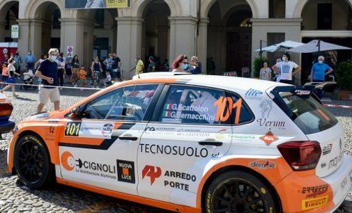 """VOGHERA 02/09/2021: Rally """"1000 Miglia"""". Il vogherese Scattolon a Brescia dà l'assalto al vertice della classifica generale"""