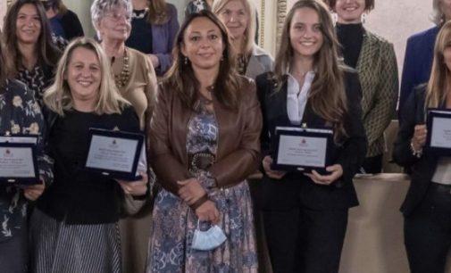 VOGHERA 22/10/2021: Conferite oggi a 4 donne della città il premio Maria Montessori