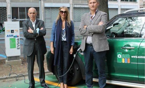 VOGHERA 06/10/2021: Colonnine per la ricarica delle auto elettriche. Ecco la App per usarle