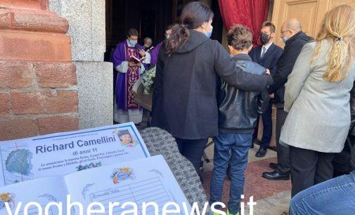 """VOGHERA 07/10/2021: Questa mattina i funerali del piccolo Richard Camellini. """"Oggi è in Paradiso con Gesù"""""""