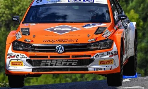 VERONA 07/10/2021: Il vogherese Scattolon al Rally Due Valli per l'ultimo assalto al titolo di Campione Italiano