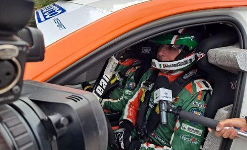 VERONA 11/10/2021: Tradito dall'auto Scattolon chiude al 5° posto nella classifica generale del Rally Due Valli