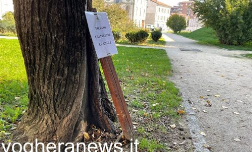 VOGHERA 12/10/2021: Parchi gioco e giardini ancora nel mirino di maleducati e vandali